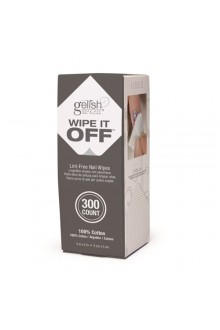 Nail Harmony Gelish - Wipe It Off Lint-Free Nail Wipes - 300ct