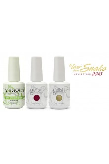 Nail Harmony Gelish - Year of the Snake Collection 2013 - FREE Vitagel Strength