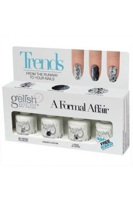 Nail Harmony Gelish - Trends - A Formal Affair - 4pc Kit