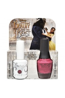Nail Harmony Gelish & Morgan Taylor - Two of a Kind - Beauty & the Beast Spring 2017 Collection - Be Our Guest