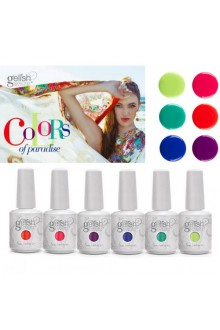 Nail Harmony Gelish - Colors of Paradise Collection
