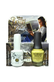 Nail Harmony Gelish & Morgan Taylor - Two of a Kind - Beauty & the Beast Spring 2017 Collection - Days in the Sun