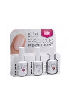 Nail Harmony Gelish - Fabulous French Trio - 0.5oz / 15ml each