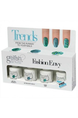 Nail Harmony Gelish - Trends - Fashion Envy - 4pc Kit