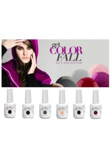 Nail Harmony Gelish - 2014 Get Color-Fall Collection - 6 Colors
