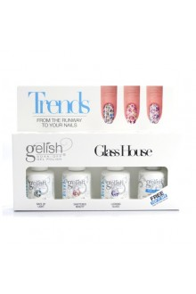 Nail Harmony Gelish - Trends - Glass House - 4pc Kit