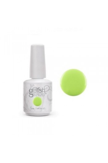 Nail Harmony Gelish - Colors of Paradise Collection - Lime All the Time - 0.5oz / 15ml