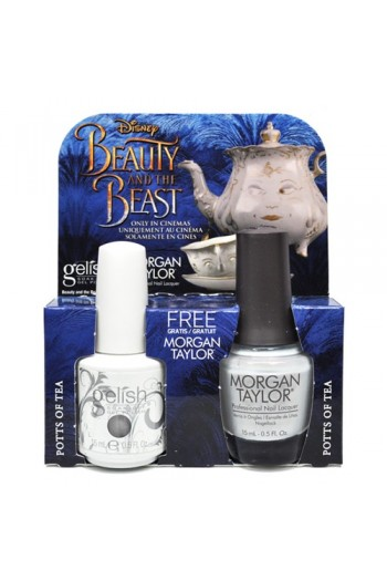 Nail Harmony Gelish & Morgan Taylor - Two of a Kind - Beauty & the Beast Spring 2017 Collection - Potts of Tea