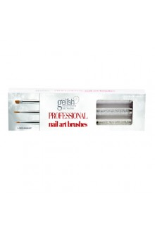 Nail Harmony Gelish - Haute Holiday Collection - Professional Nail Art Brushes - Limited Edition