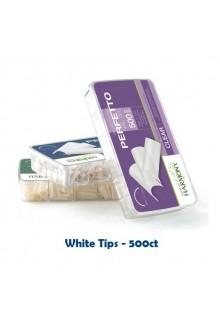 Nail Harmony Prohesion Perfetto Nail Tips - White - 500ct
