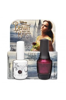 Nail Harmony Gelish & Morgan Taylor - Two of a Kind - Beauty & the Beast Spring 2017 Collection - The Last Petal