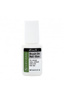 ibd 5 Second Brush-On Nail Glue - 0.2oz / 6g