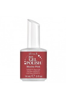 ibd Just Gel Polish - Mocha Pink - 0.5oz / 14ml