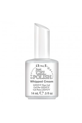 ibd Just Gel Polish - Whipped Cream - 0.5oz / 14ml
