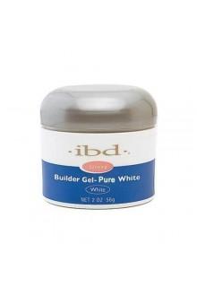 ibd UV Builder Gel - Pure White - 2oz / 56g