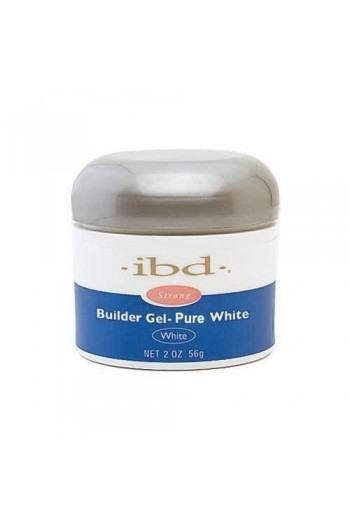 ibd UV Builder Gel - Pure White - 2oz / 56g