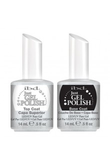 ibd Just Gel Polish - Base Coat & Top Coat - 0.5oz / 15ml