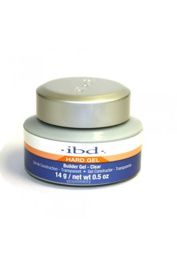 ibd UV Builder Gel - Clear - 0.5oz / 14g