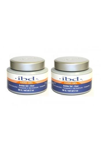 ibd UV Builder Gel - Clear - 2oz / 56g - 2 Pack