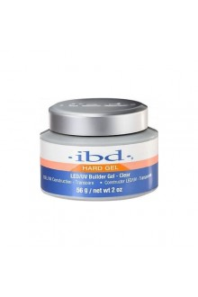 ibd LED/UV Builder Gel - Clear - 2oz / 56g