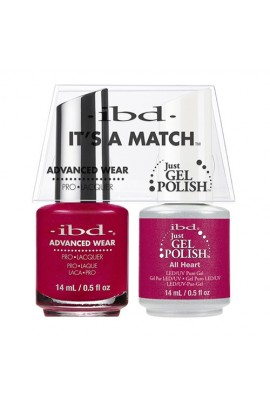 "ibd Advanced Wear - ""It's A Match"" Duo Pack - All Heart - 14ml / 0.5oz Each"