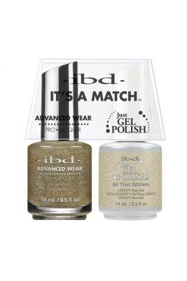 "ibd Advanced Wear - ""It's A Match"" Duo Pack - All That Glitters - 14ml / 0.5oz Each"