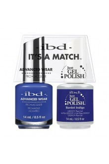 "ibd Advanced Wear - ""It's A Match"" Duo Pack - Bardot Indigo - 14ml / 0.5oz Each"