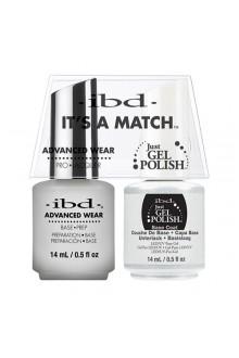 "ibd Advanced Wear - ""It's A Match"" Duo Pack - Base Prep - 14ml / 0.5oz Each"