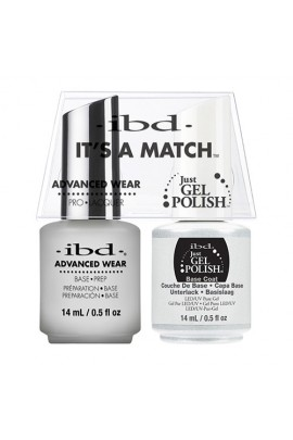 "ibd Advanced Wear - ""It's A Match"" Duo Pack - Base Prep - 14ml / 0.5oz Each"