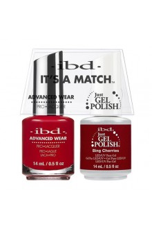 "ibd Advanced Wear - ""It's A Match"" Duo Pack - Bing Cherries - 14ml / 0.5oz Each"
