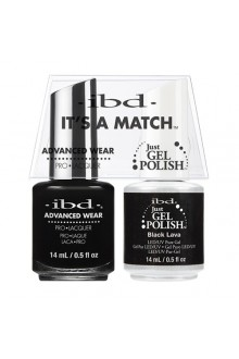 "ibd Advanced Wear - ""It's A Match"" Duo Pack - Black Lava - 14ml / 0.5oz Each"