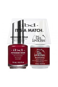 "ibd Advanced Wear - ""It's A Match"" Duo Pack - Breathtaking - 14ml / 0.5oz Each"