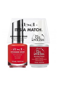 "ibd Advanced Wear - ""It's A Match"" Duo Pack - Burning Flame - 14ml / 0.5oz Each"