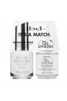 "ibd Advanced Wear - ""It's A Match"" Duo Pack - Carte Blanche - 14ml / 0.5oz Each"