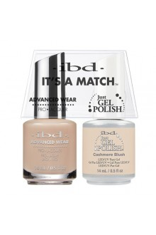 "ibd Advanced Wear - ""It's A Match"" Duo Pack - Cashmere Blush - 14ml / 0.5oz Each"