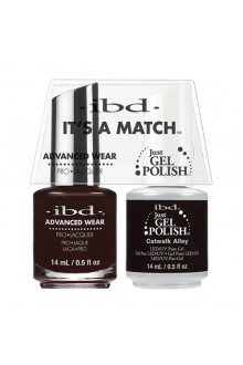 "ibd Advanced Wear - ""It's A Match"" Duo Pack - Catwalk Alley - 14ml / 0.5oz Each"