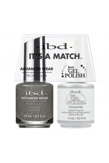 "ibd Advanced Wear - ""It's A Match"" Duo Pack - Fireworks - 14ml / 0.5oz Each"