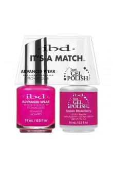"""ibd Advanced Wear - """"It's A Match"""" Duo Pack - Frozen Strawberry - 14ml / 0.5oz Each"""