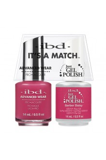 "ibd Advanced Wear - ""It's A Match"" Duo Pack - Gerber Daisy - 14ml / 0.5oz Each"