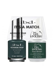 "ibd Advanced Wear - ""It's A Match"" Duo Pack - Green Monster - 14ml / 0.5oz Each"