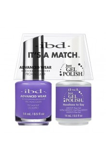 "ibd Advanced Wear - ""It's A Match"" Duo Pack - Heedless to Say - 14ml / 0.5oz Each"