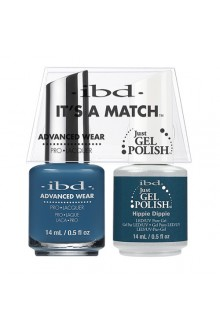 "ibd Advanced Wear - ""It's A Match"" Duo Pack - Hippie Dippie - 14ml / 0.5oz Each"