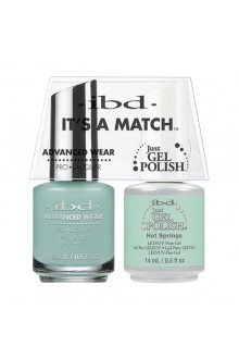 "ibd Advanced Wear - ""It's A Match"" Duo Pack - Hot Springs - 14ml / 0.5oz Each"