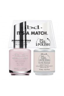 "ibd Advanced Wear - ""It's A Match"" Duo Pack - I'm No Damsel - 14ml / 0.5oz Each"