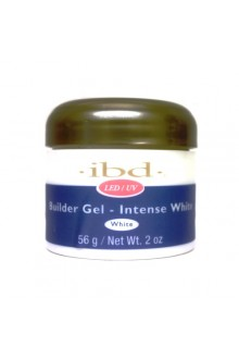 ibd LED/UV Builder Gel - Intense White - 2oz / 56g