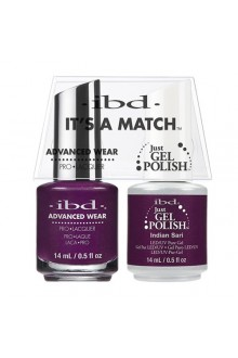 "ibd Advanced Wear - ""It's A Match"" Duo Pack - Indian Sari - 14ml / 0.5oz Each"