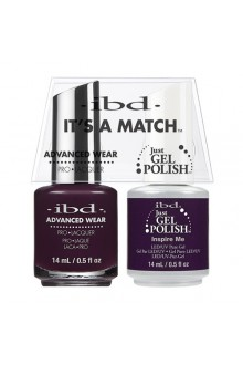 "ibd Advanced Wear - ""It's A Match"" Duo Pack - Inspire Me - 14ml / 0.5oz Each"