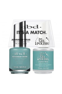 "ibd Advanced Wear - ""It's A Match"" Duo Pack - Jupiter Blue - 14ml / 0.5oz Each"