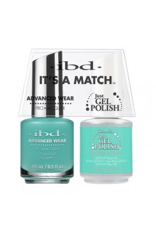 "ibd Advanced Wear - ""It's A Match"" Duo Pack - Just Me n' Capri - 14ml / 0.5oz Each"