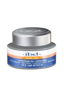 ibd LED/UV Builder Gel - Intense White - 0.5oz / 14g